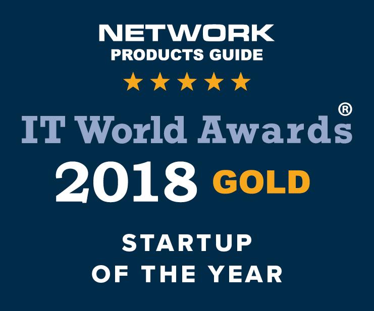 2018 IT World Awards Gold Winner Award Image