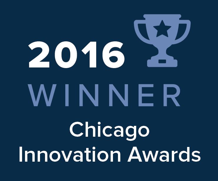 2016 Chicago Innovation Awards Winner Image