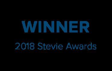 Winner 2018 Stevie Awards