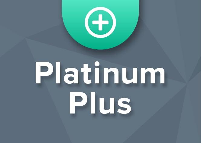 Platinum Plus Coverage Graphic