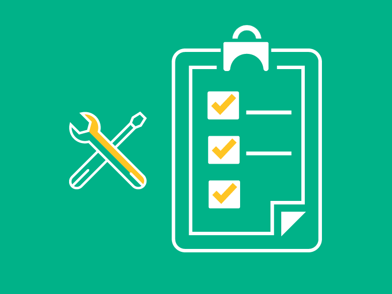 Claims checklist from your repair mechanic coverage graphic